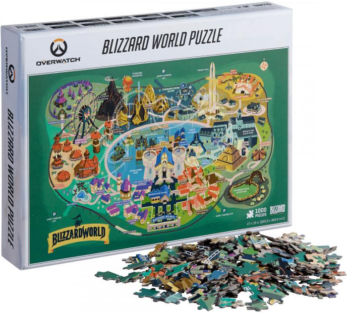 Пазл Blizzard: Blizzard World (1000 элементов)