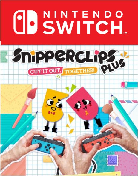 Snipperclips: Cut it out, together! Пакет-Плюс [Switch, Цифровая версия] (Цифровая версия) фото