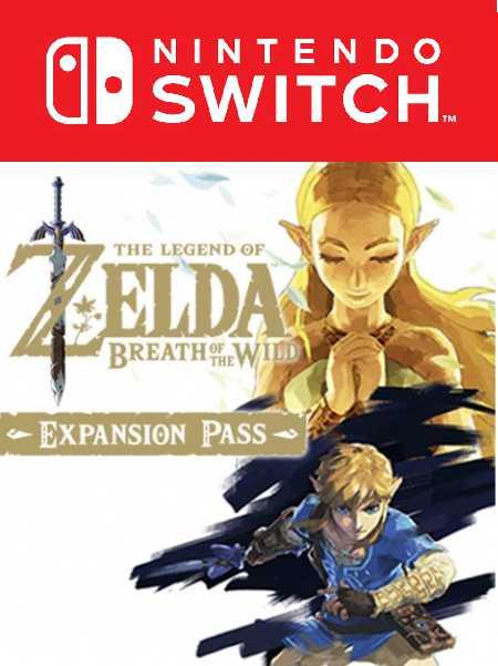 The Legend of Zelda: Breath of the Wild. Талон на DLC [Switch, Цифровая версия] (Цифровая версия) фото
