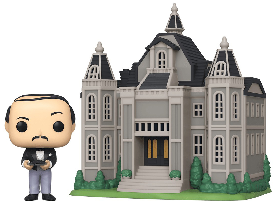 Фигурка Funko POP Town: Batman 80 Years – Alfred Pennyworth With Wayne Manor фото