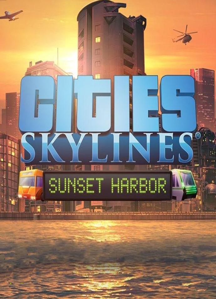 Cities: Skylines. Sunset Harbor. Дополнение [PC, Цифровая версия] (Цифровая версия) фото