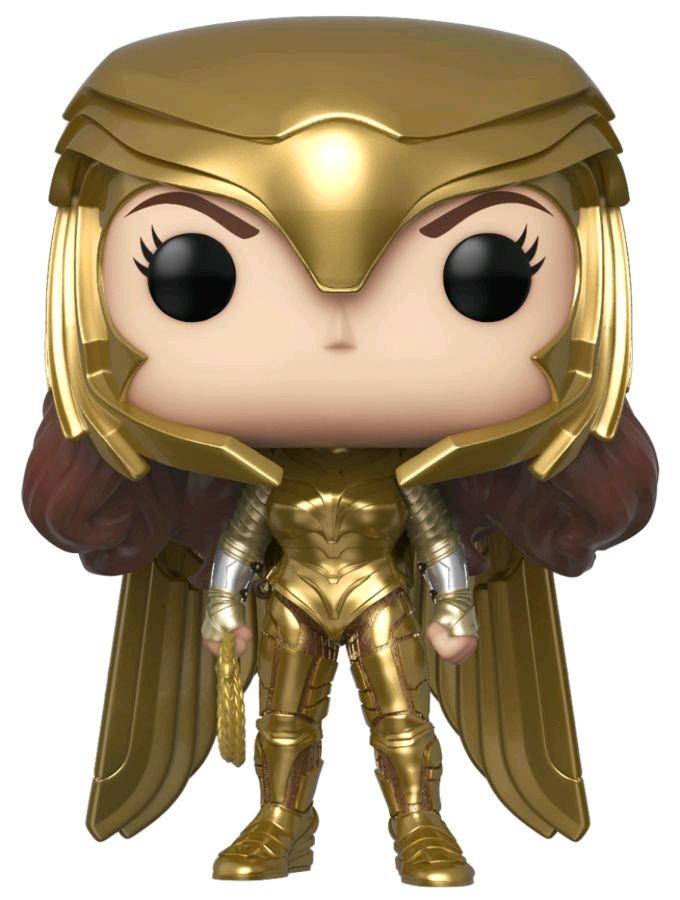 Фото - Фигурка Funko POP: Wonder Woman 1984 – Wonder Woman Gold Power Metallic (9,5 см) leigh bardugo wonder woman zwiastunka wojny