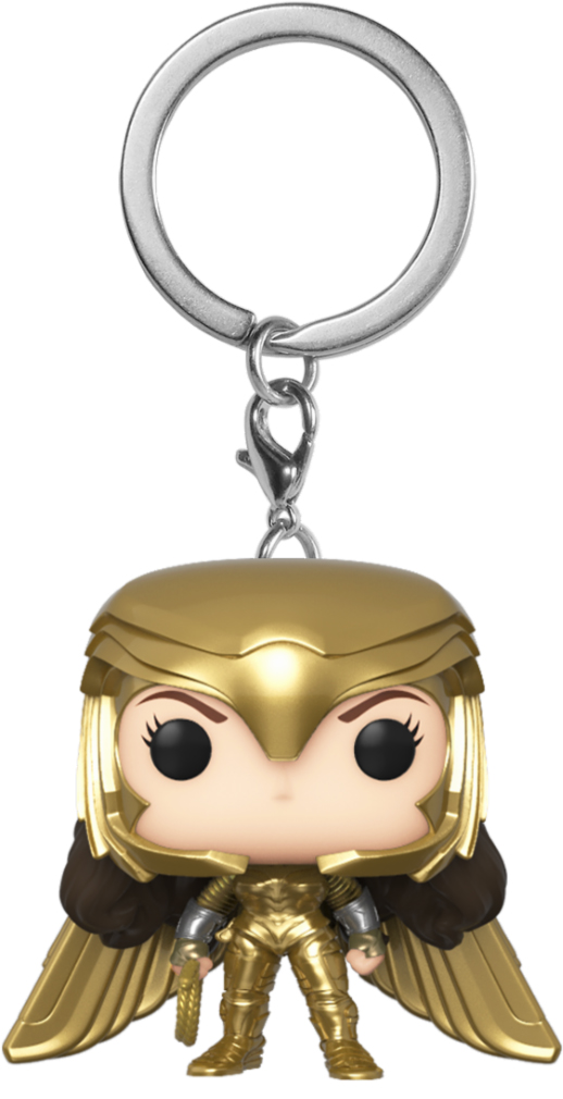 Фото - Брелок Funko POP: Wonder Woman 1984 – Wonder Woman Gold Power Pose leigh bardugo wonder woman zwiastunka wojny