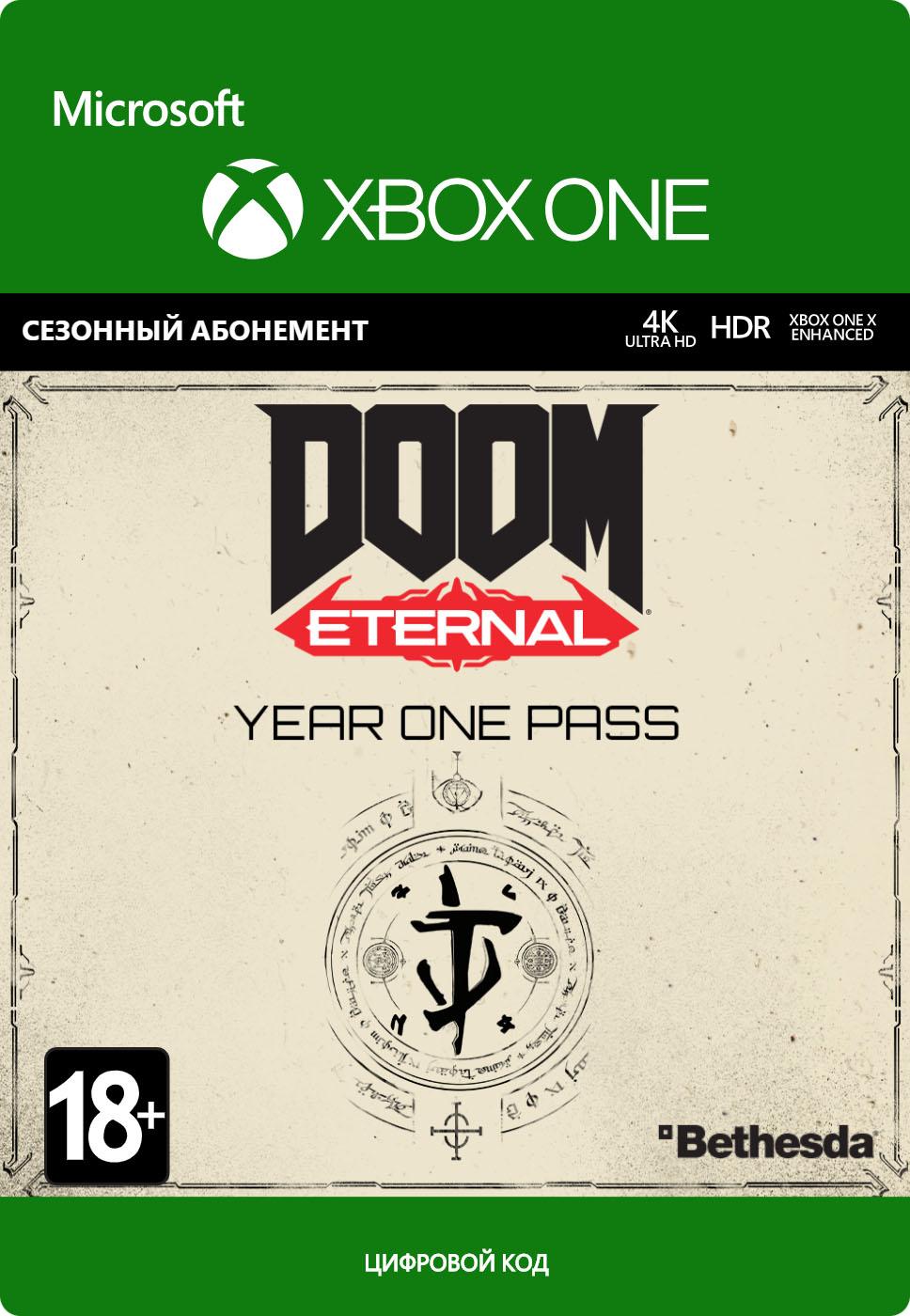 DOOM Eternal. Year One Pass. Дополнение [Xbox One, Цифровая версия] (Цифровая версия) фото