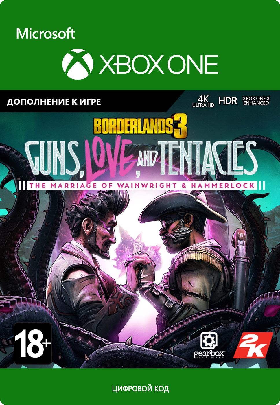 Borderlands 3: Guns, Love and Tentacles. Дополнение [Xbox One, Цифровая версия] (Цифровая версия) фото