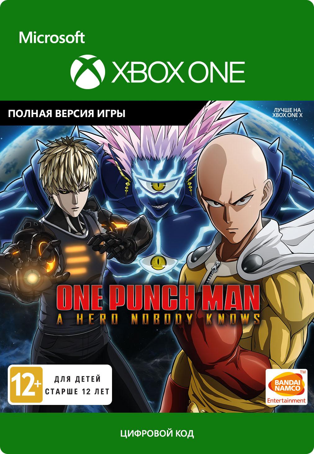 One Punch Man: A Hero Nobody Knows [Xbox One, Цифровая версия] (Цифровая версия)