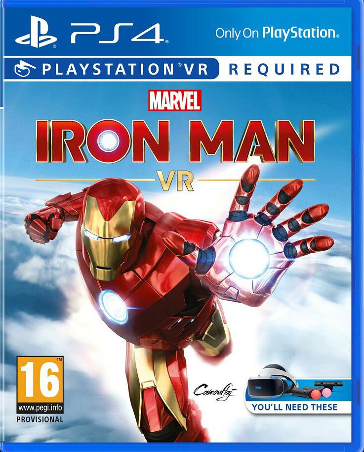 Marvel's Iron Man VR (поддержка VR) [PS4]