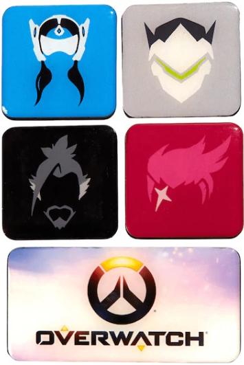 Набор магнитов Overwatch Series 3 5-Pack