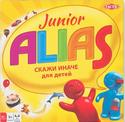 Настольная игра ALIAS Junior: Скажи иначе. Для детей