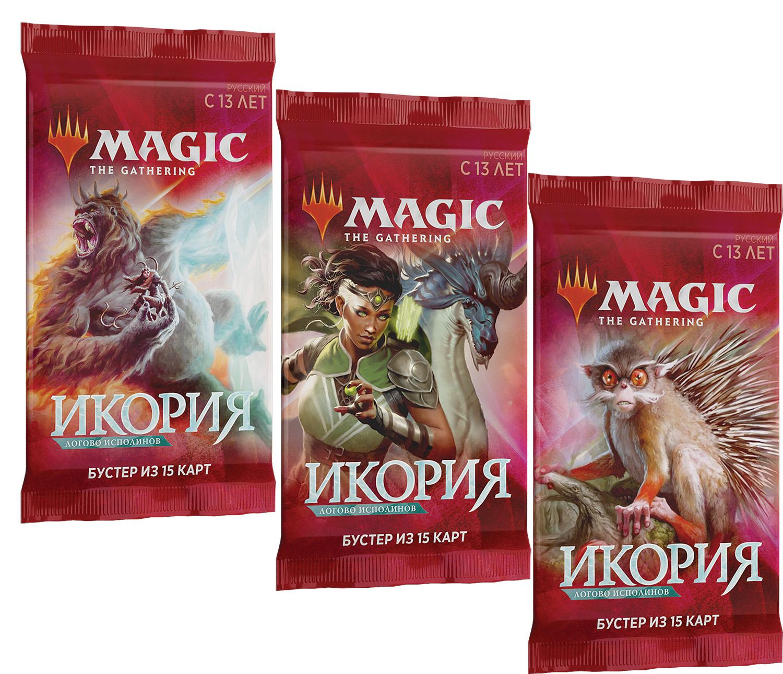 Magic The Gathering: Икория – Логово Исполинов. Бустер