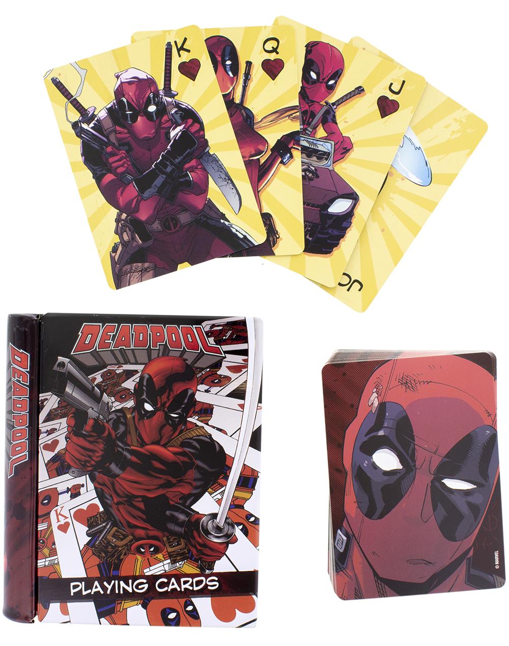 Карты игральные Deadpool плакат deadpool panels 59