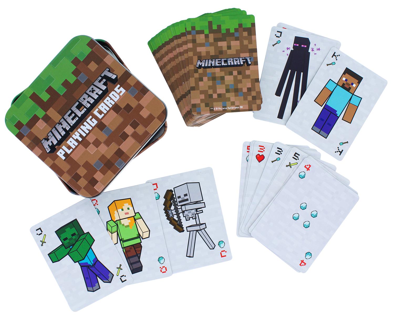 Карты игральные Minecraft