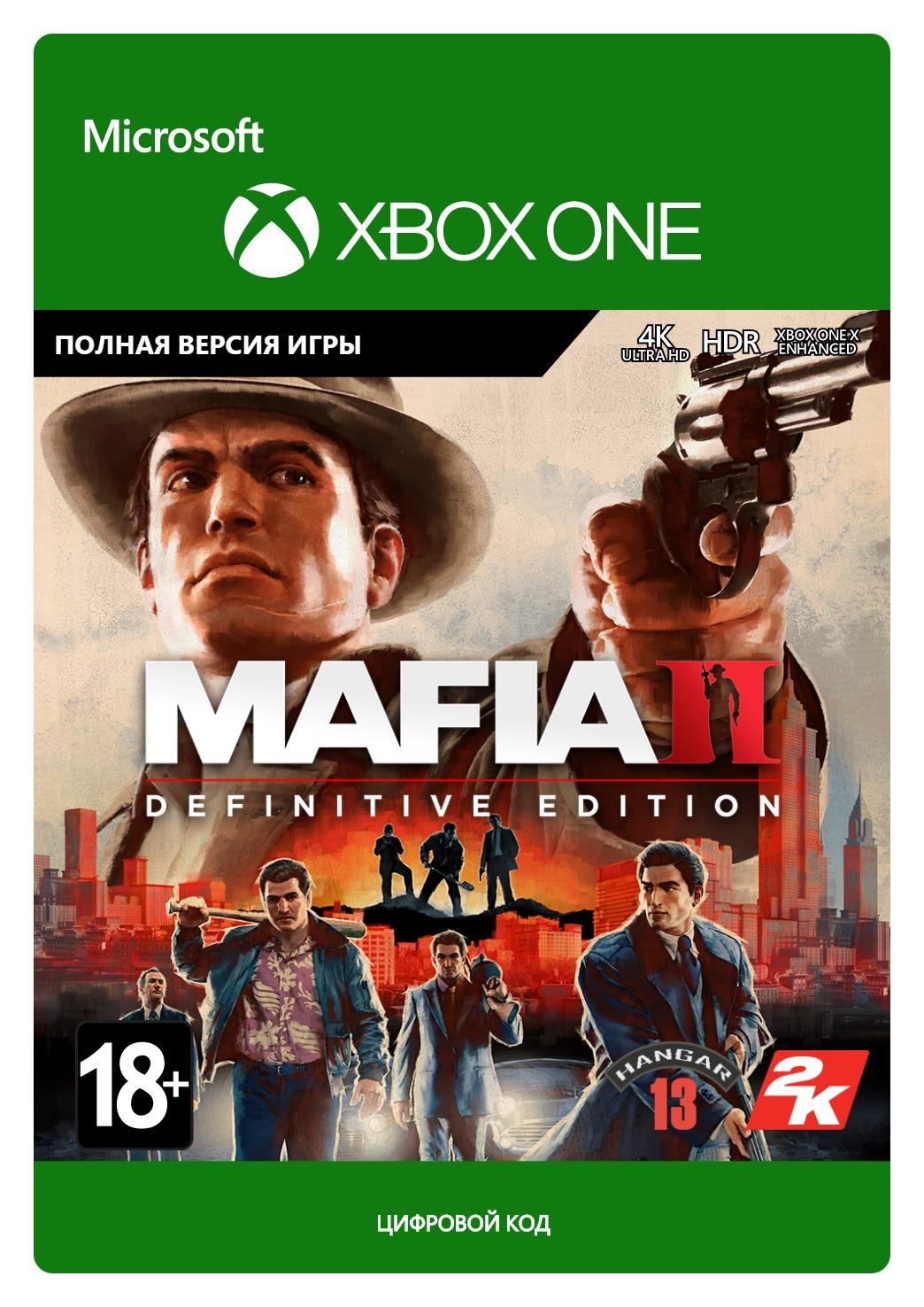 Mafia II: Definitive Edition [Xbox One, Цифровая версия] (Цифровая версия) недорого