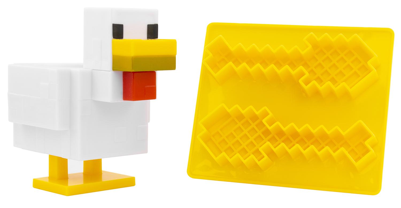 Подставка для яиц Minecraft + форма для тостов