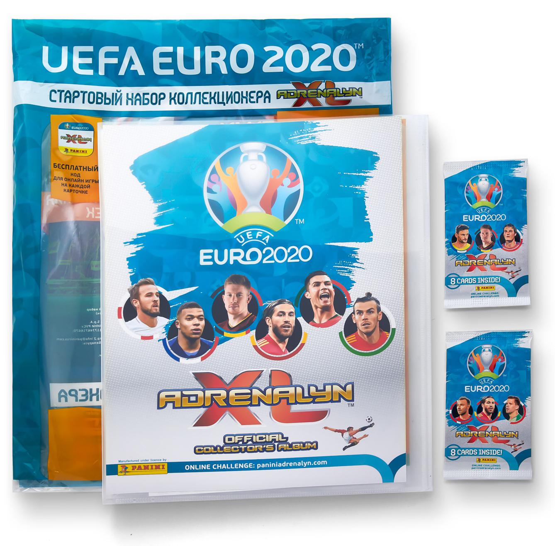 Стартовый набор коллекционера UEFA EURO 2020