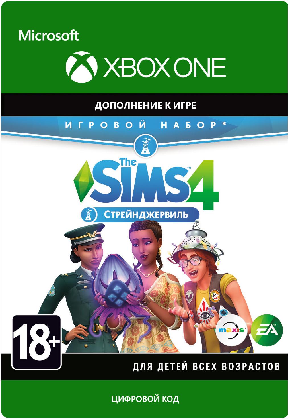 Фото - The Sims 4: Strangerville. Дополнение [Xbox One, Цифровая версия] (Цифровая версия) agatha christie the abc murders [pc цифровая версия] цифровая версия