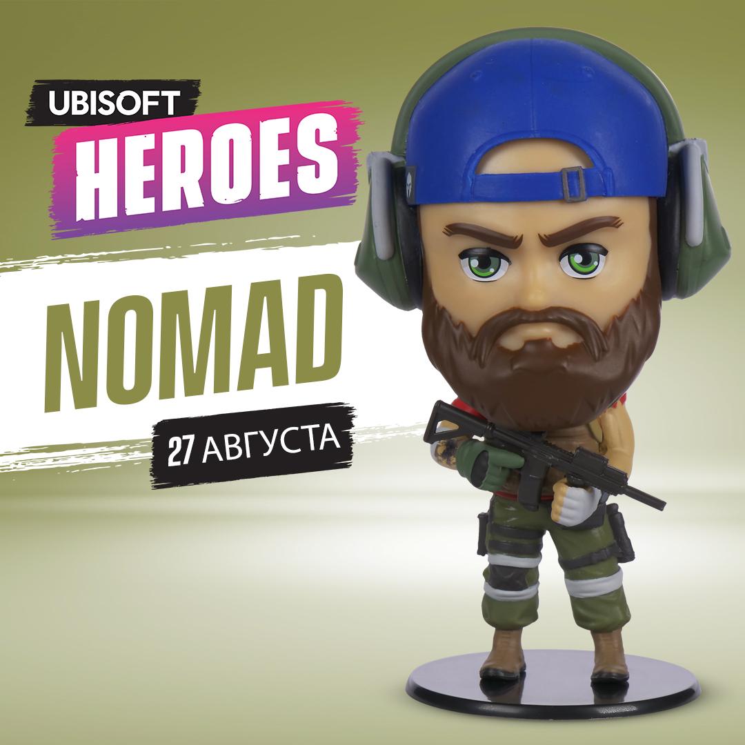 Фигурка Ubisoft Heroes: Tom Clancy's Ghost Recon Breakpoint – Nomad (10 см)