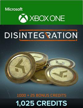 Disintegration: 1025 Credits [Xbox One, Цифровая версия] (Цифровая версия)