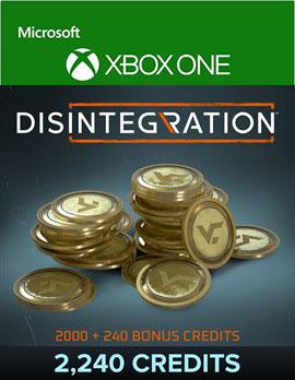 Disintegration: 2240 Credits [Xbox One, Цифровая версия] (Цифровая версия)