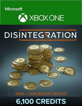 Disintegration: 6100 Credits [Xbox One, Цифровая версия] (Цифровая версия)