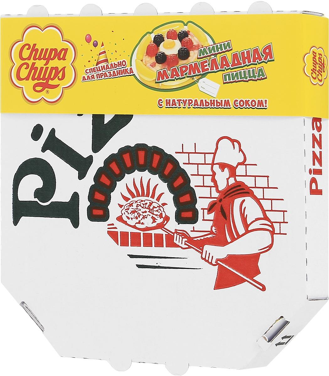 Жевательный мармелад Chupa Chups: Мармеладная пицца.