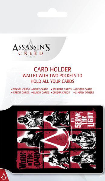 Кошелёк-картхолдер Assassins Creed кошелёк картхолдер harry potter undesirable no 1