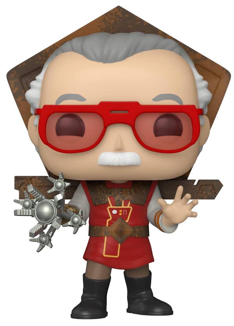 Фигурка Funko POP Marvel: Thor Ragnarok – Stan Lee Bobble-Head (9,5 см)