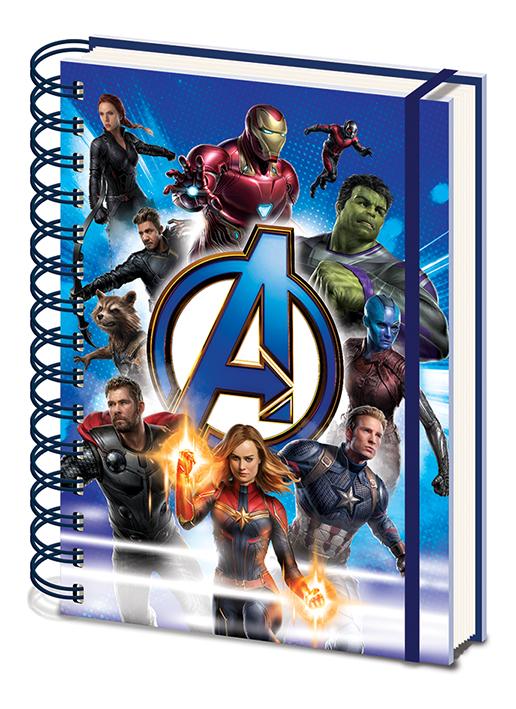 Блокнот Marvel Avengers Endgame: Unite A5