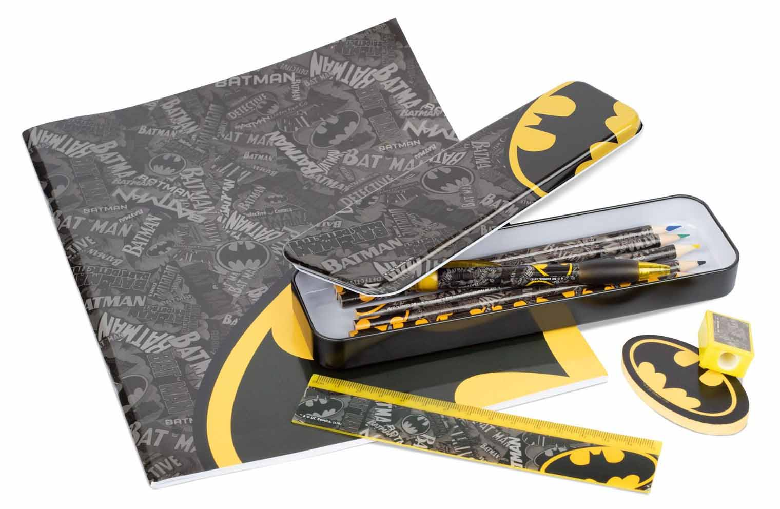 Канцелярский набор Batman: Logo Strike