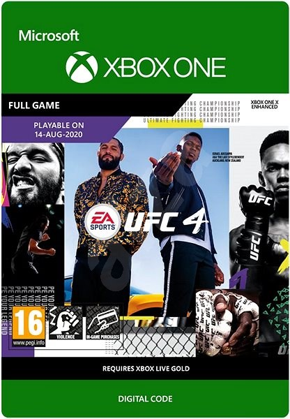 UFC 4 [Xbox One, Цифровая версия] (Цифровая версия)