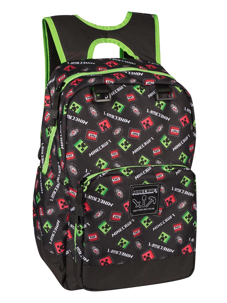 Фото - Рюкзак Minecraft: Scatter Creeper школьные рюкзаки minecraft рюкзак creeper scatter