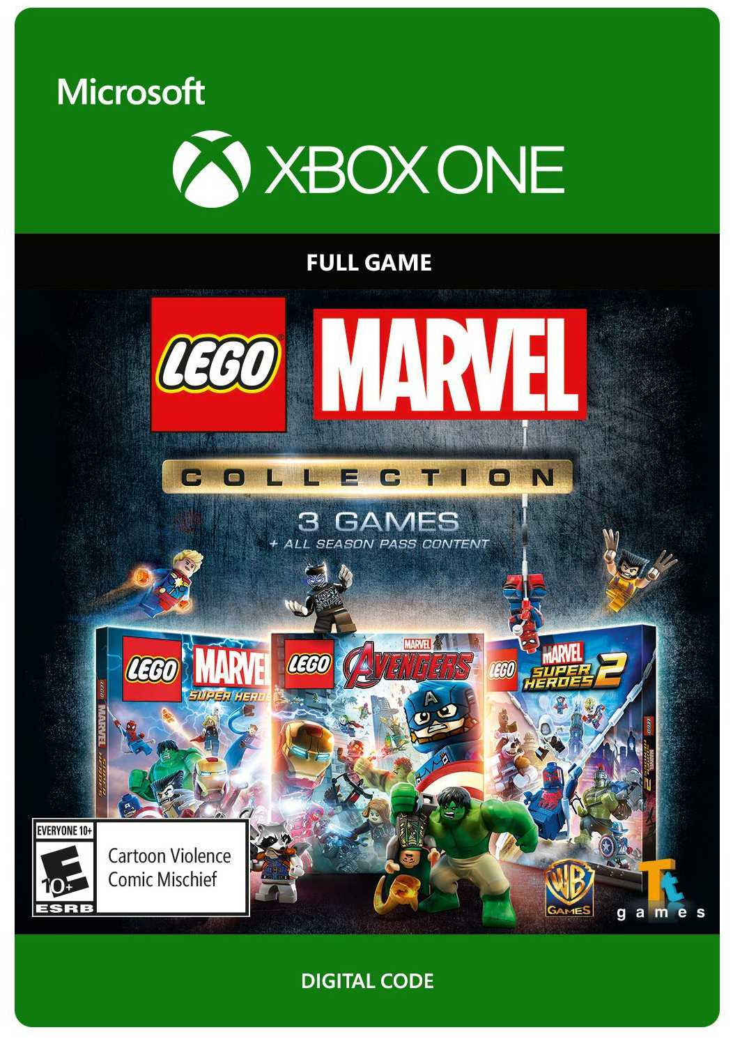 LEGO Marvel Collection [Xbox One, Цифровая версия] (Цифровая версия)