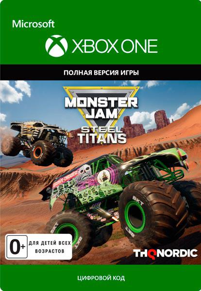 Monster Jam Steel Titans [Xbox One, Цифровая версия] (Цифровая версия)