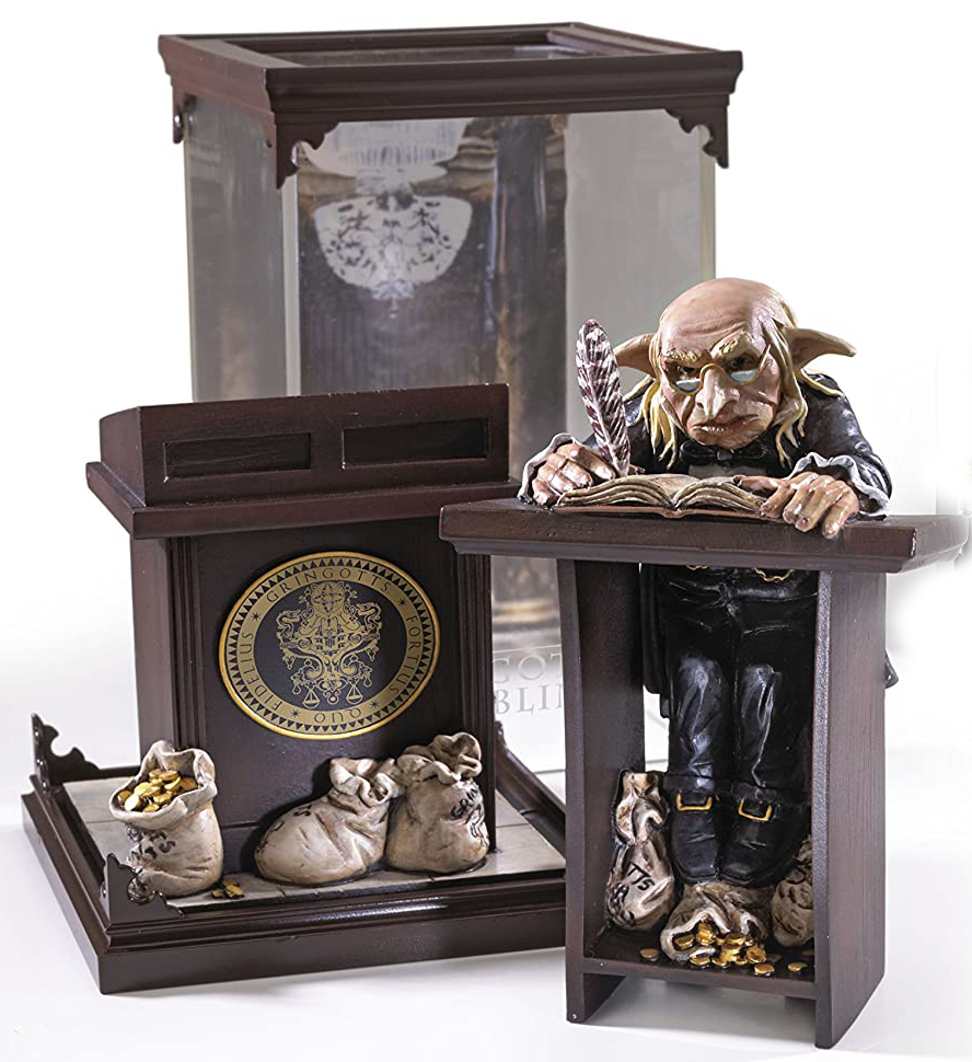Фигурка Harry Potter: Gringotts Goblin Magical Creatures (18,5см) фигурка harry potter fawkes the phoenix magical creatures 18 5 см