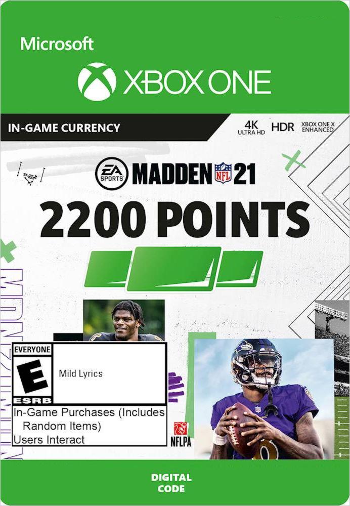 Madden NFL 21. 2200 Madden Points [Xbox One, Цифровая версия] (Цифровая версия)