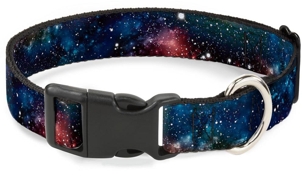 Ошейник Галактика Мультицвет С пластиковой застёжкой (38-66 см)