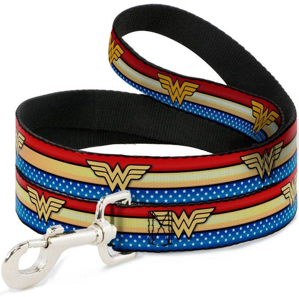 Поводок Wonder Woman / Чудо-женщина Мультицвет (120 см)
