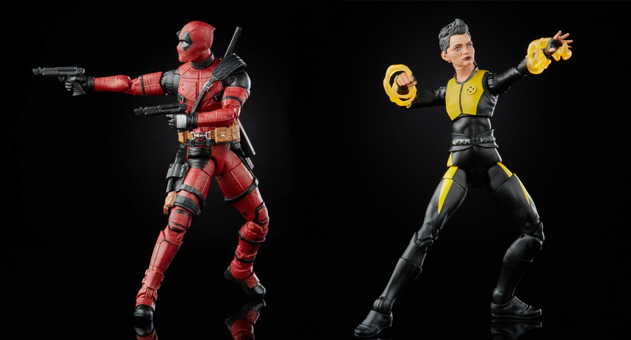 Фигурка Marvel Legends Series: Deadpool and Negasonic Teenage Warhead (15 см)