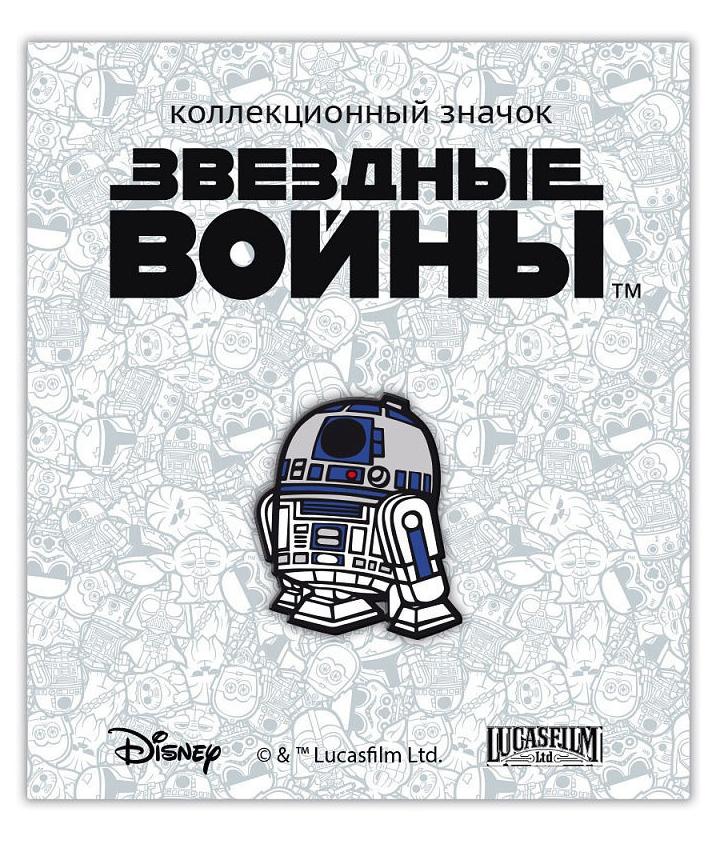 usb карта sw r2 d2 8 gb Значок деревянный Disney: Звёздные войны 2 – R2-D2