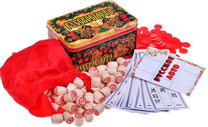 Фото - Настольная игра Русское лото. Жестяная коробка настольная игра нескучное лото азбука цифры тм нескучные игры