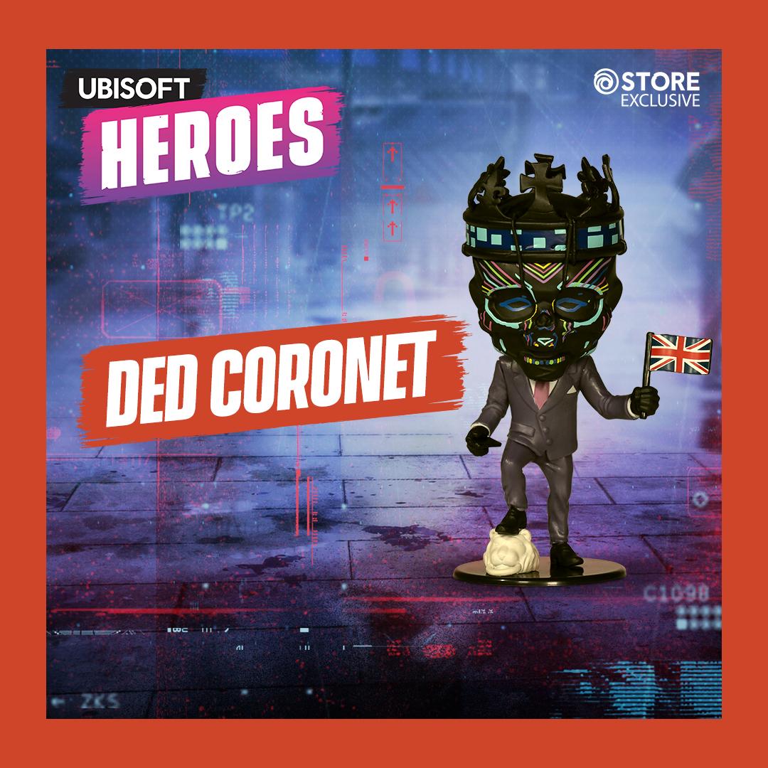 Фигурка Ubisoft Heroes: Watch Dogs: Legion – Ded Coronet Limited Edition (10 см)