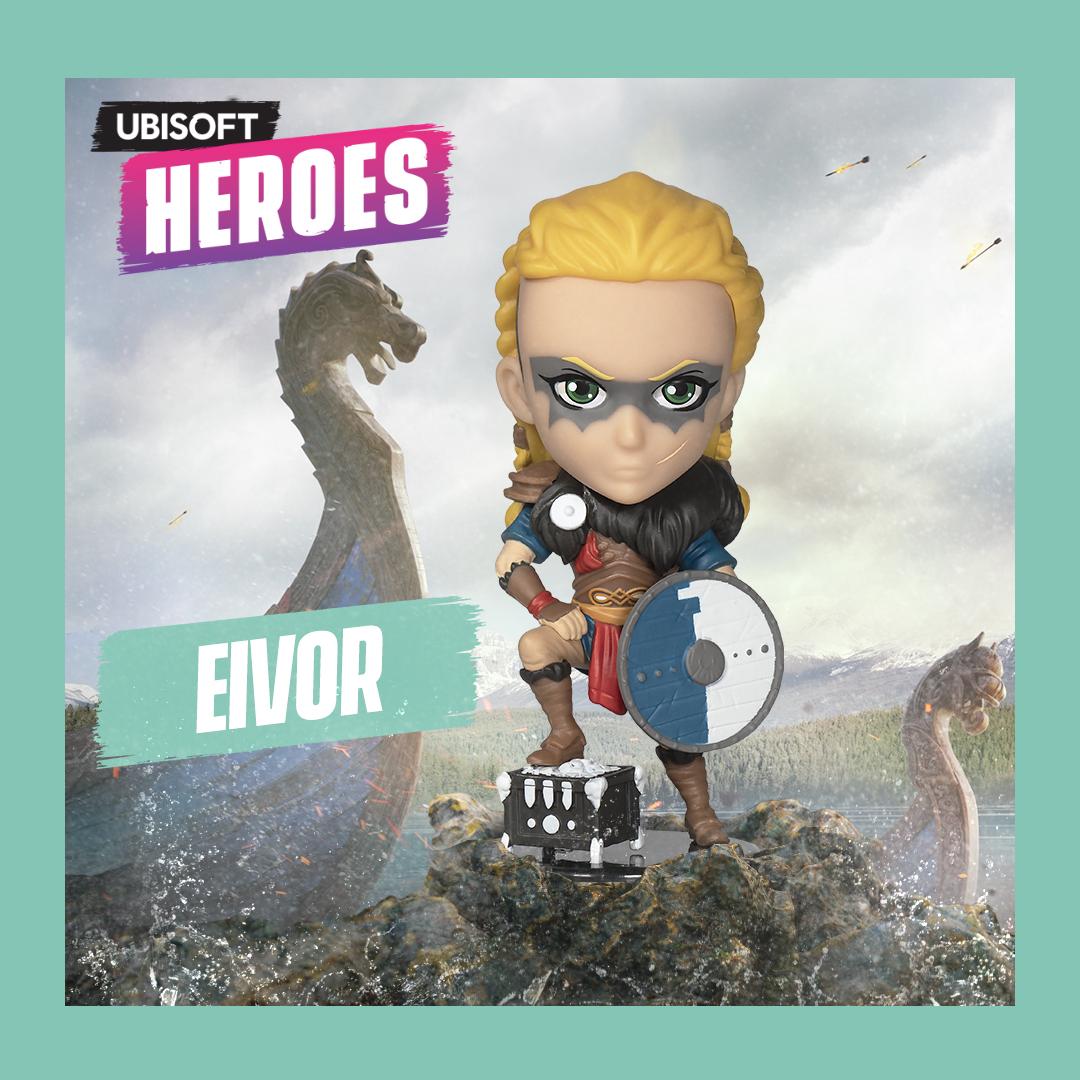 Фигурка Ubisoft Heroes: Assassin`s Creed: Вальгалла – Eivor Female (10 см)