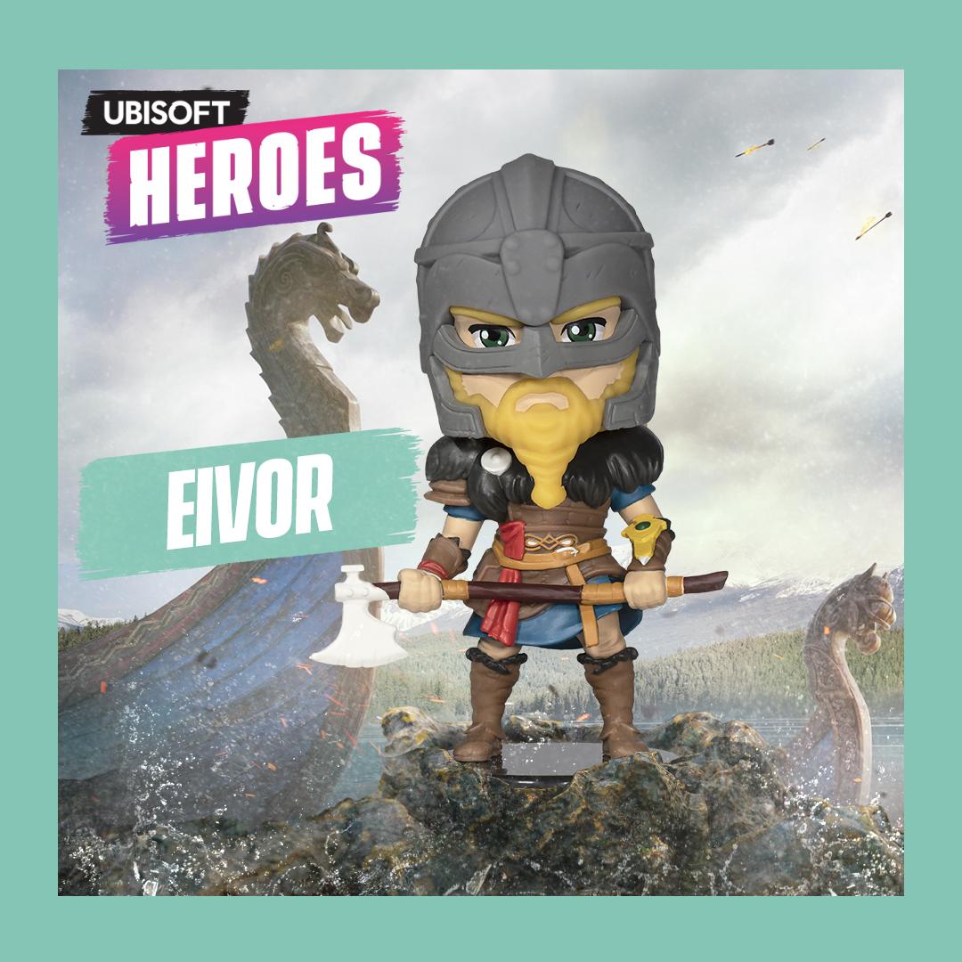 Фигурка Ubisoft Heroes Assassin`s Creed: Вальгалла – Eivor Male Ubisoft Heroes (10 см)