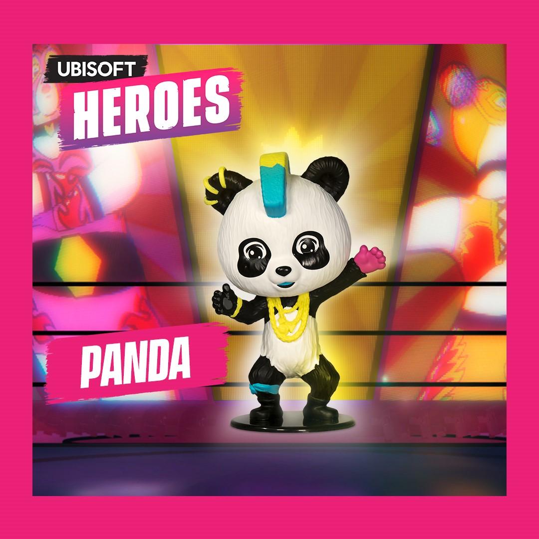 Фигурка Ubisoft Heroes: Just Dance – Panda (10 см)