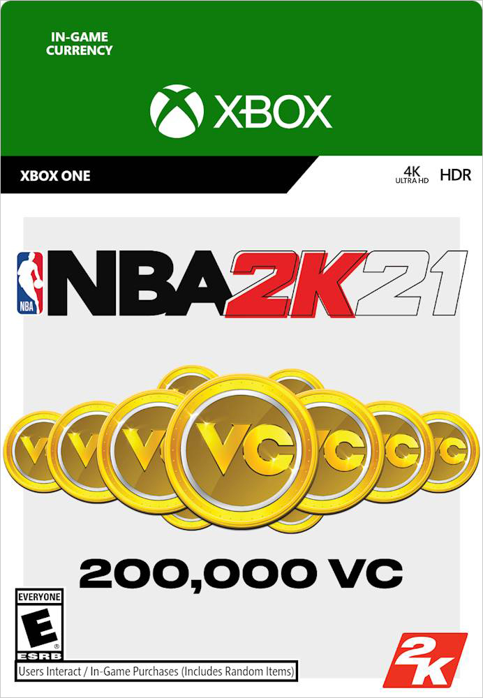 NBA 2K21. 200000 VC [Xbox One, Цифровая версия] (Цифровая версия)