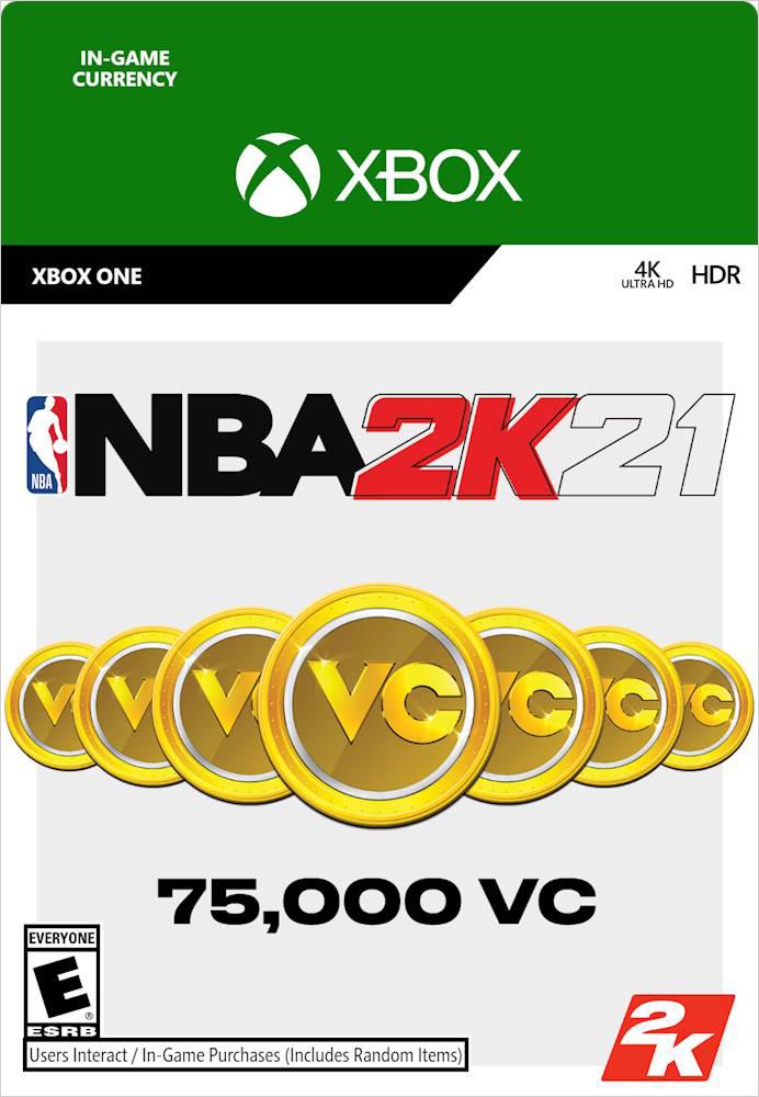 NBA 2K21. 75000 VC [Xbox One, Цифровая версия] (Цифровая версия)