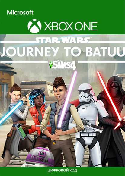 The Sims 4: Star Wars. Journey to Batuu. Дополнение [Xbox One, Цифровая версия] (Цифровая версия)