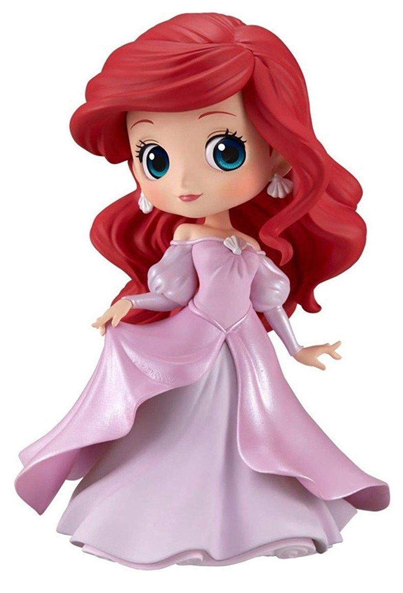 Фигурка Q Posket Disney Character: The Little Mermaid – Ariel Pink Princess Dress