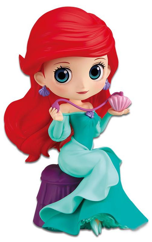 Фото - Фигурка Q Posket Perfumagic Disney Character: The Little Mermaid – Ariel Version A the little mermaid