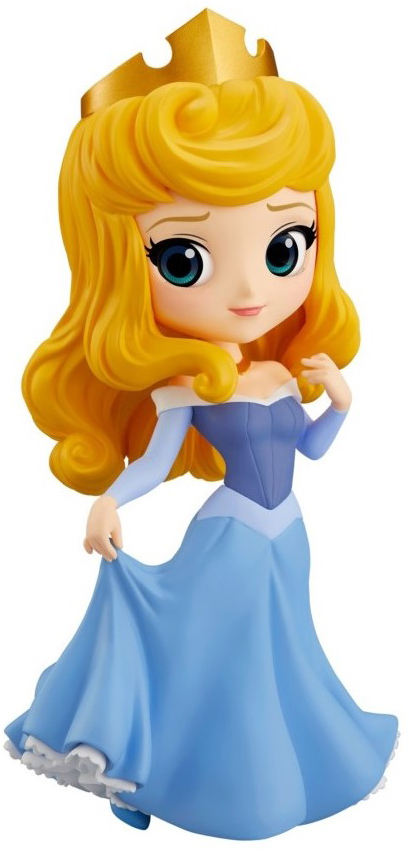 Фигурка Q Posket Disney Character: Sleeping Beauty – Princess Aurora Blue Dress